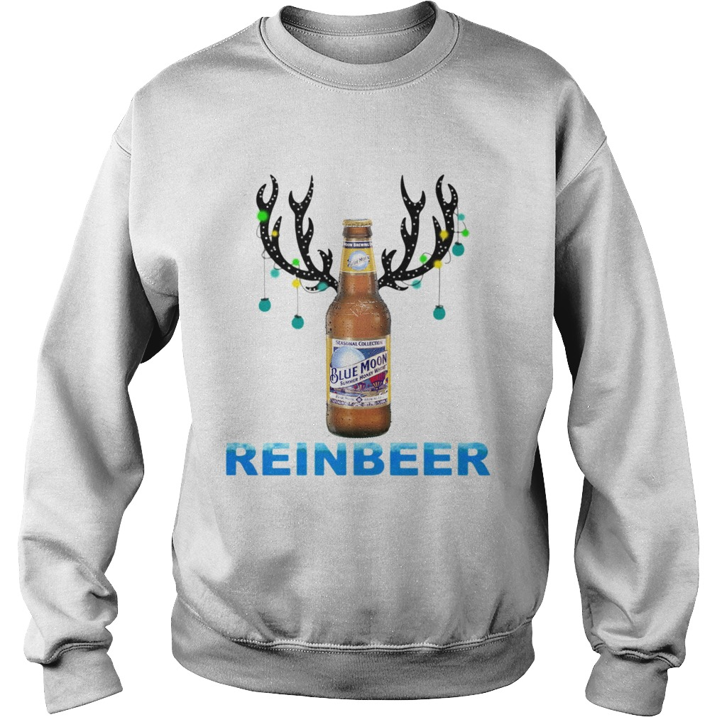 Blue Moon ReinBeer Christmas Shirt Sweatshirt
