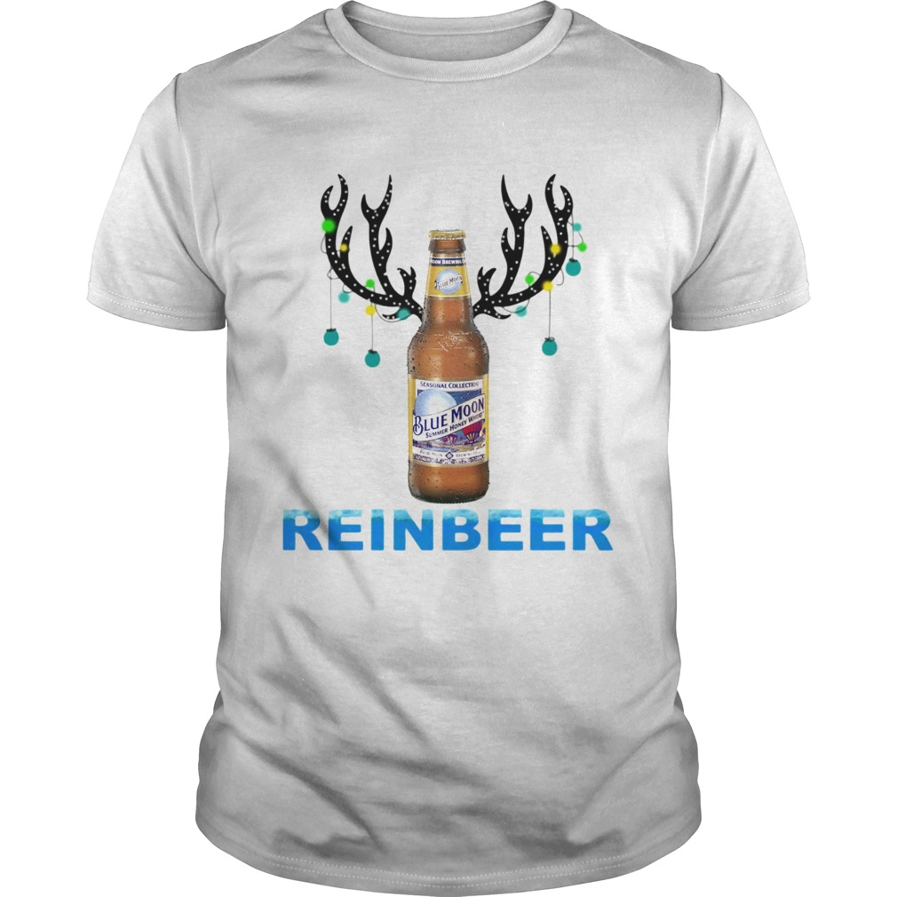Blue Moon ReinBeer Christmas Shirt Unisex