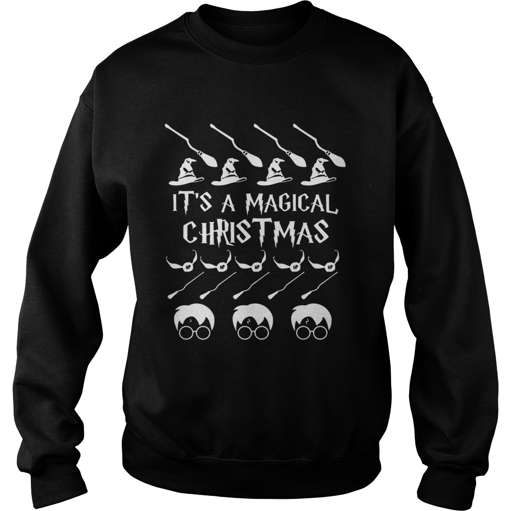Its a Magical Christmas Harry Potter  Sweatshirt