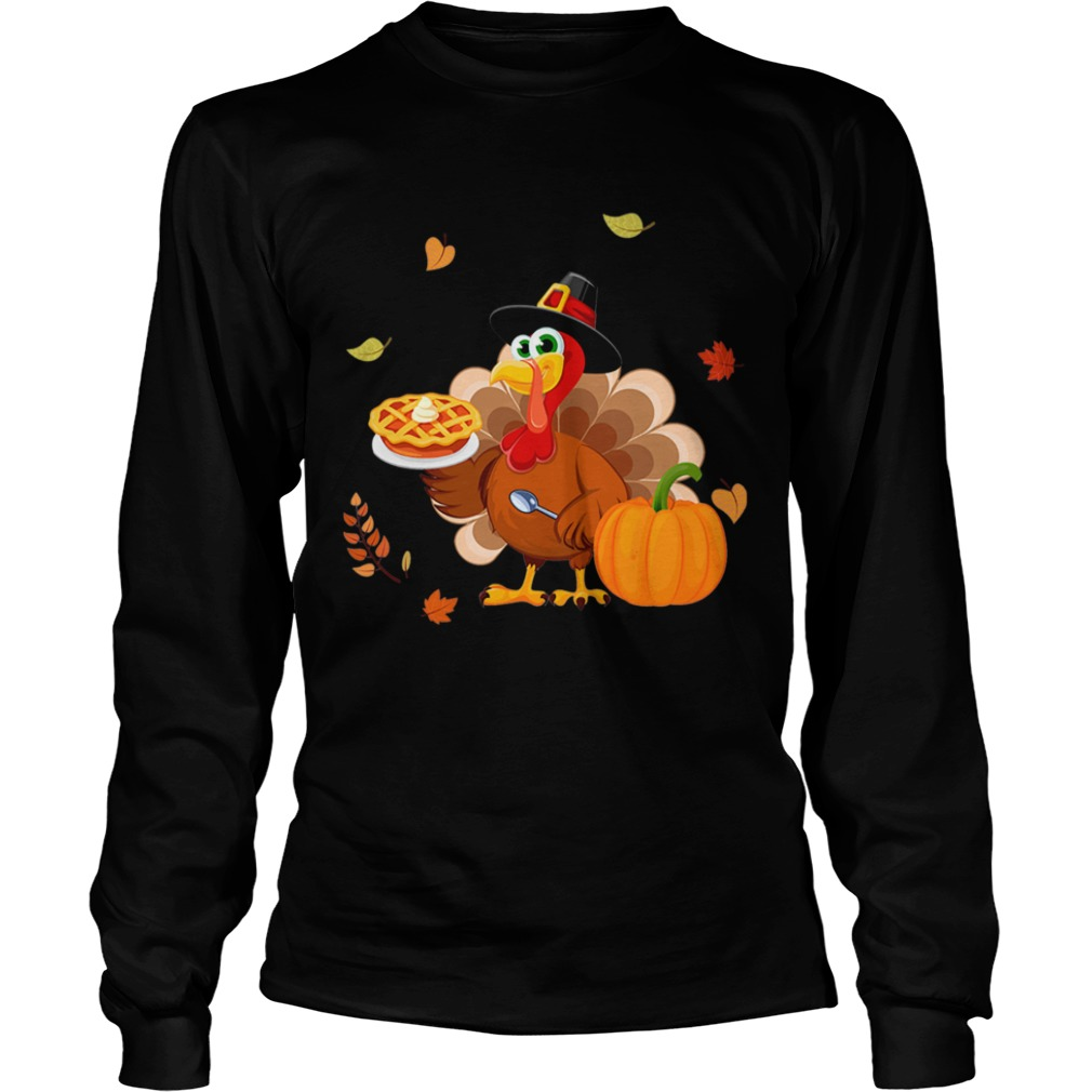 Lunch Lady Turkey Thanksgiving Gift TShirt LongSleeve