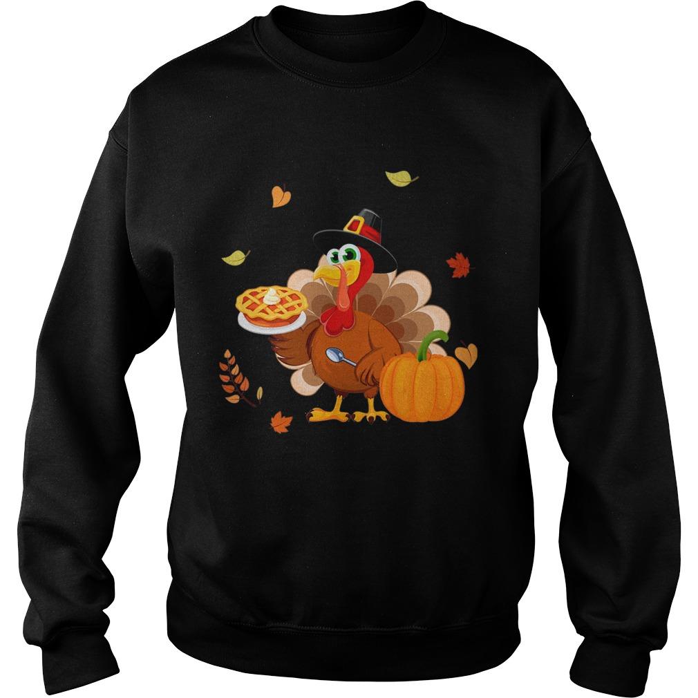Lunch Lady Turkey Thanksgiving Gift TShirt Sweatshirt