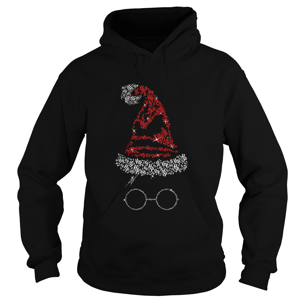 Diamond Christmas hat Harry Potter  Hoodie