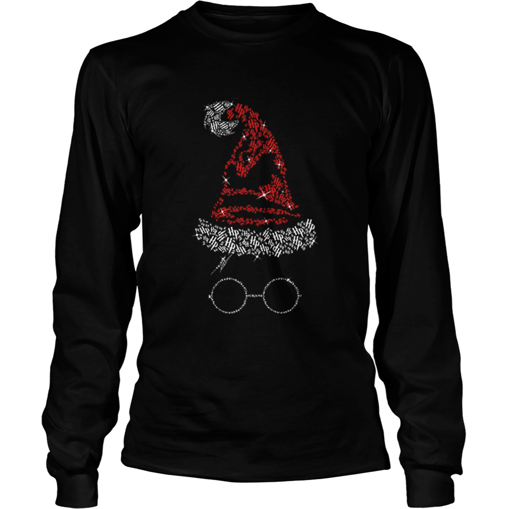 Diamond Christmas hat Harry Potter  LongSleeve