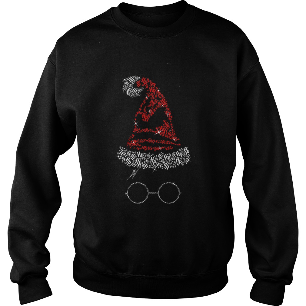 Diamond Christmas hat Harry Potter  Sweatshirt