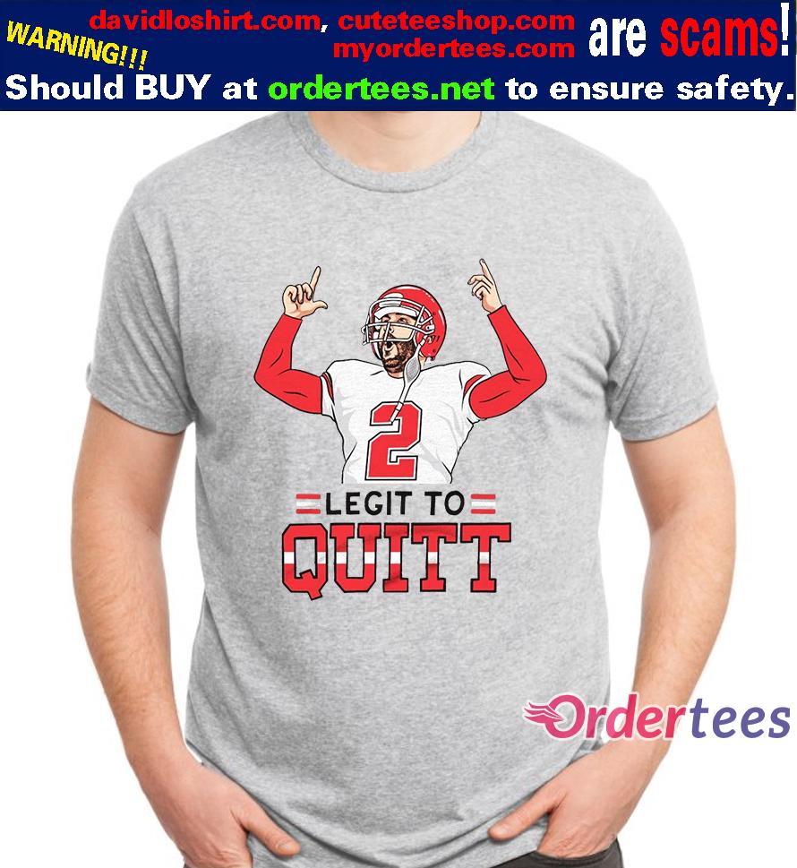 2 Legit To Quitt t shirt