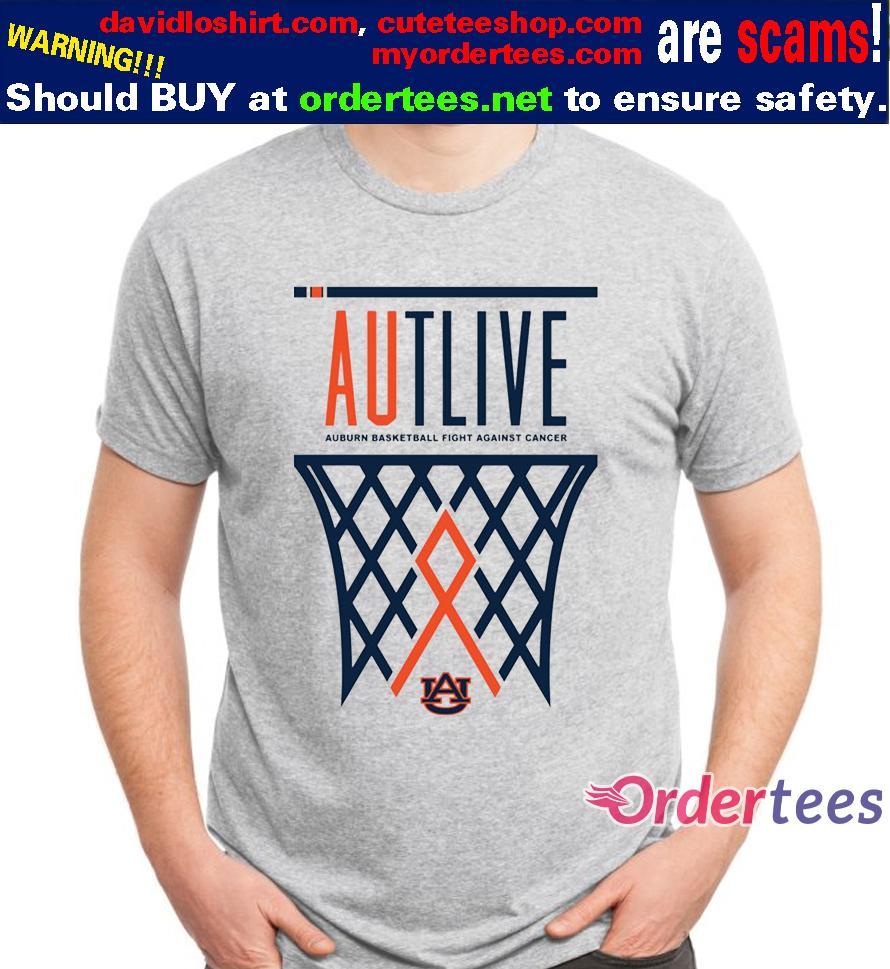 Auburn Tigers 2020 Autlive Basketball t shirt