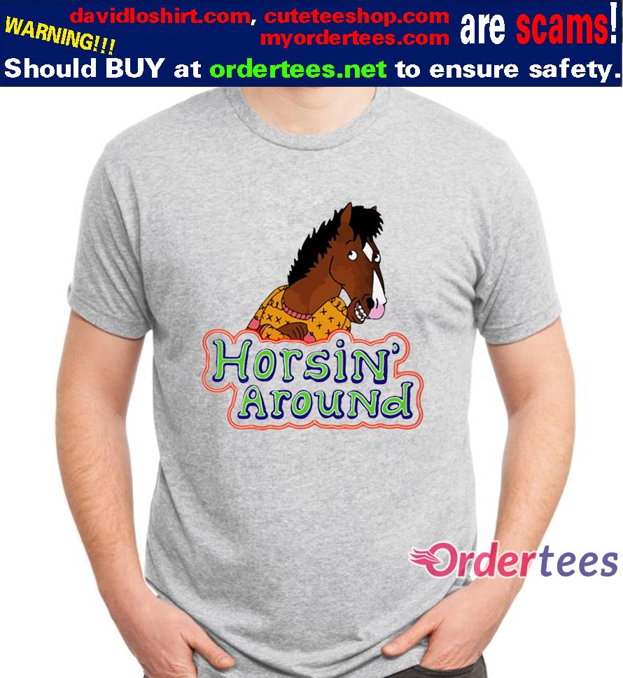 Bojack Horseman Horsin Around T Shirt