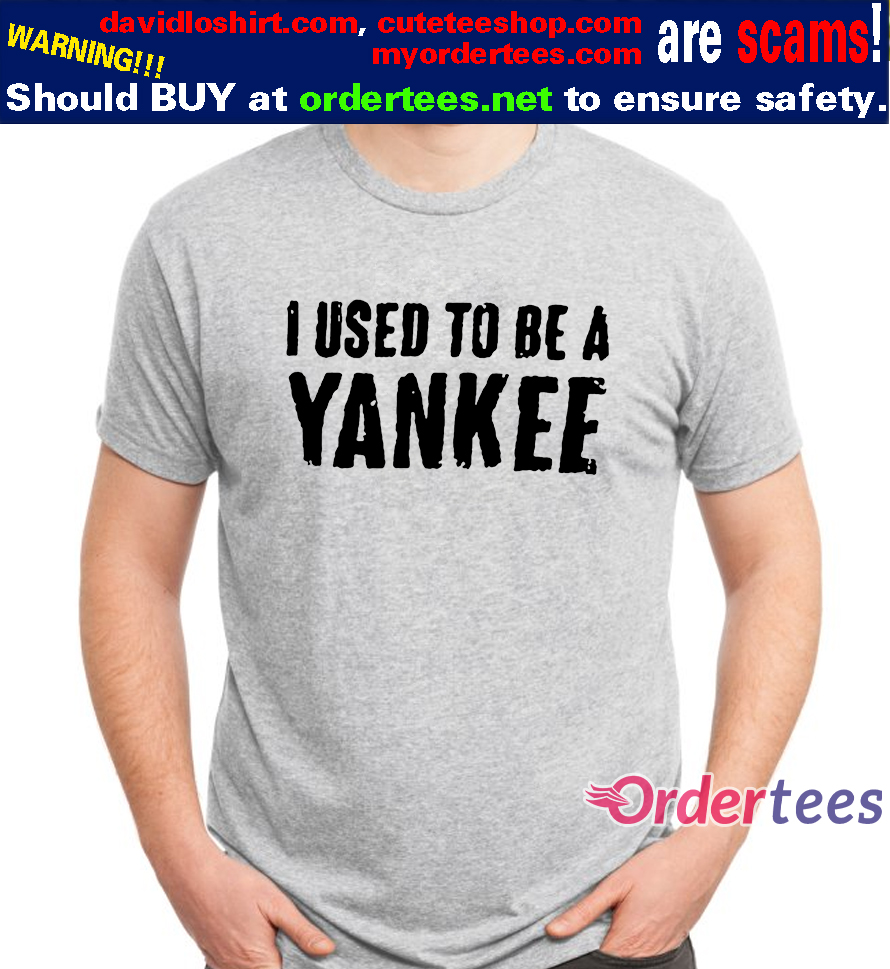 Cliff Bleszinski I Used To Be A Yankee T Shirt