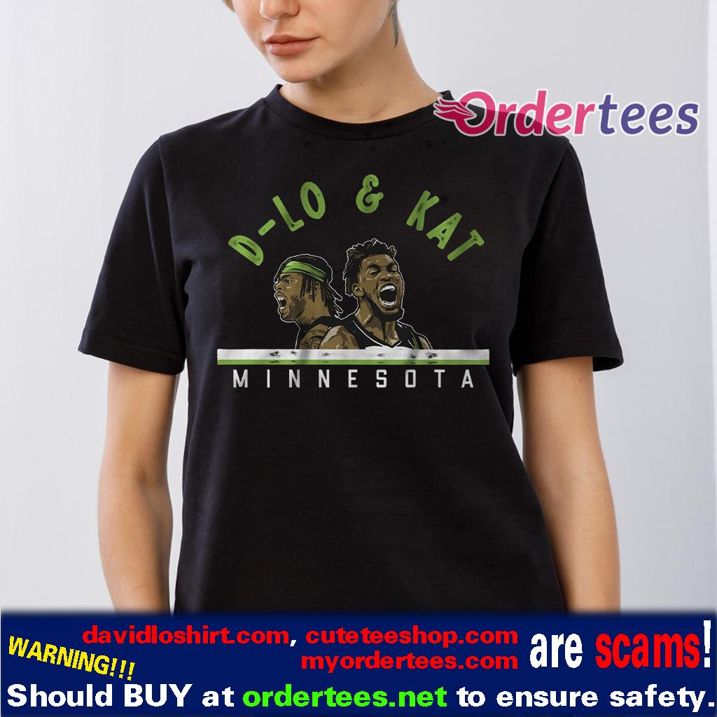 D-Lo and KAT Shirts, Minnesota Basketball