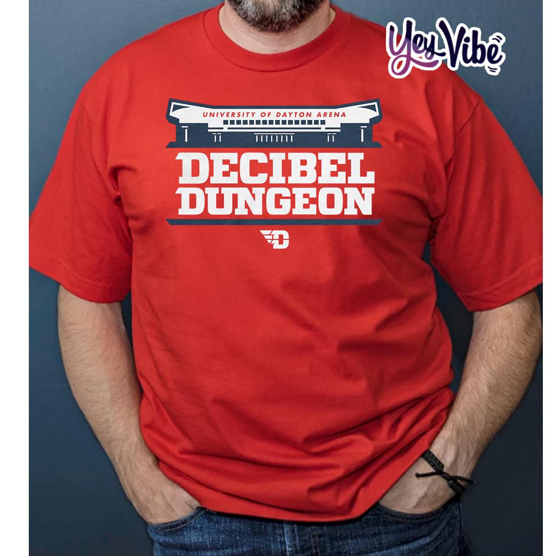 Decibel Dungeon T Shirt University Of Dayton Arena