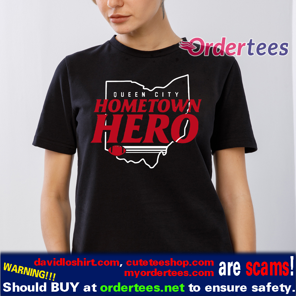 Hometown Hero T-Shirt, Cincinnati Football