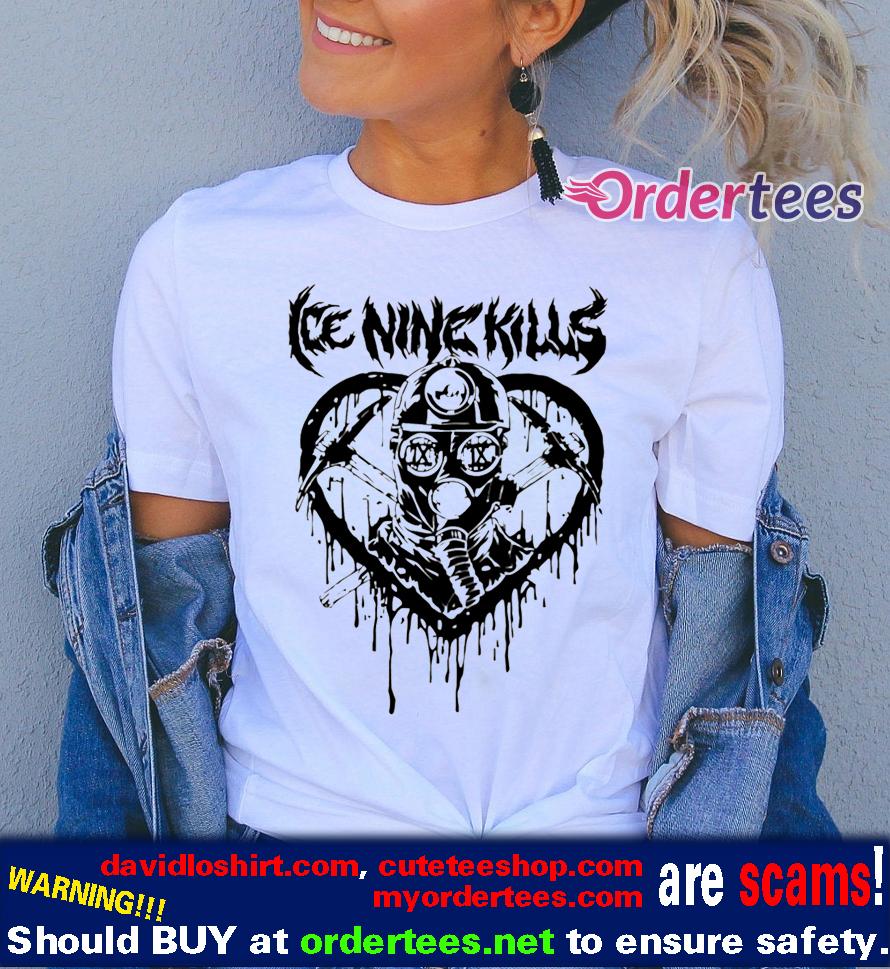 Ice Nine Kills Mad Miner T Shirts