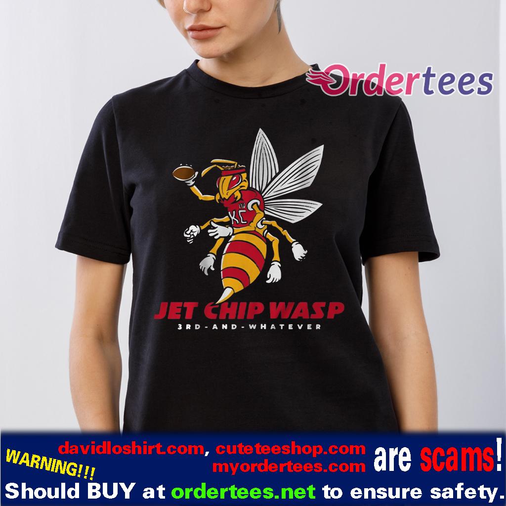 Jet Chip Wasp Shirts - Kansas City