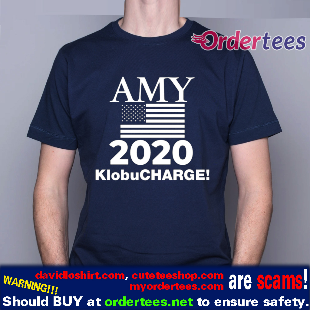Klobucharge Amy Klobuchar 2020 President American Flag T Shirt