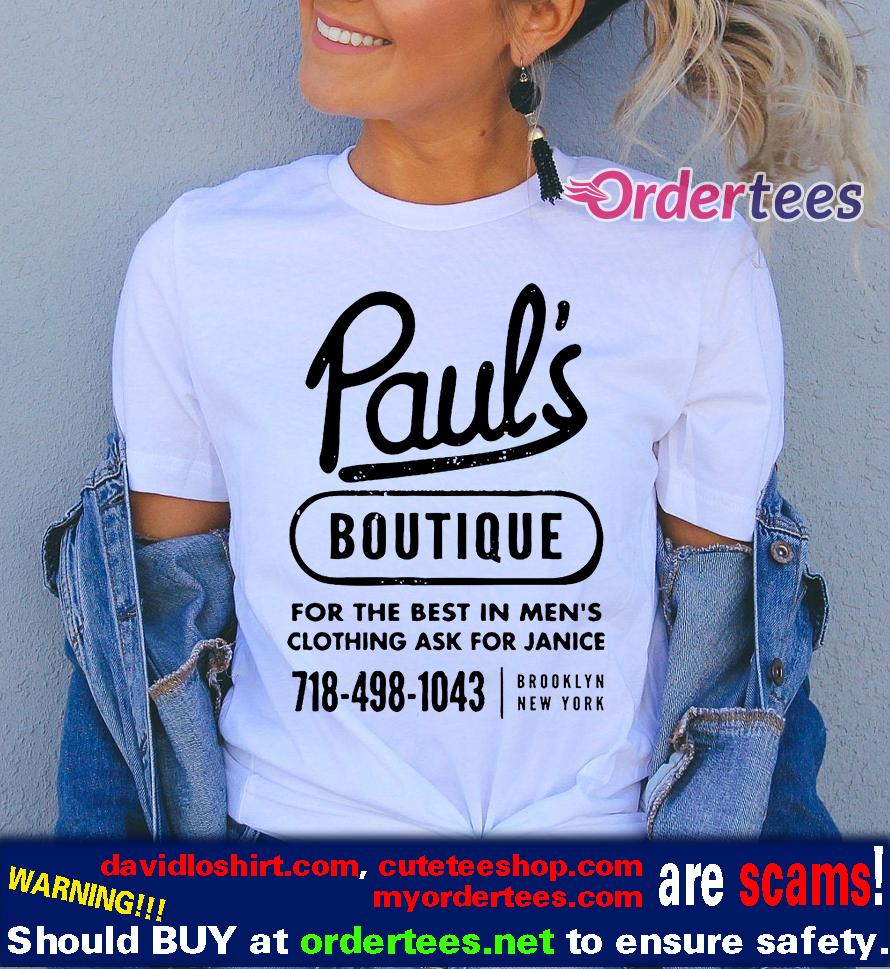 Paul's Boutique T Shirt, Brooklyn, New York