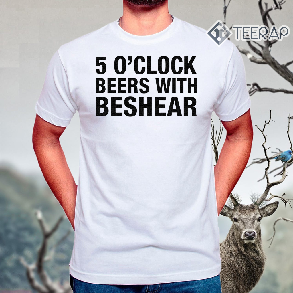 Andy Beshear – 5 O'clock Beers With Beshear Shirt