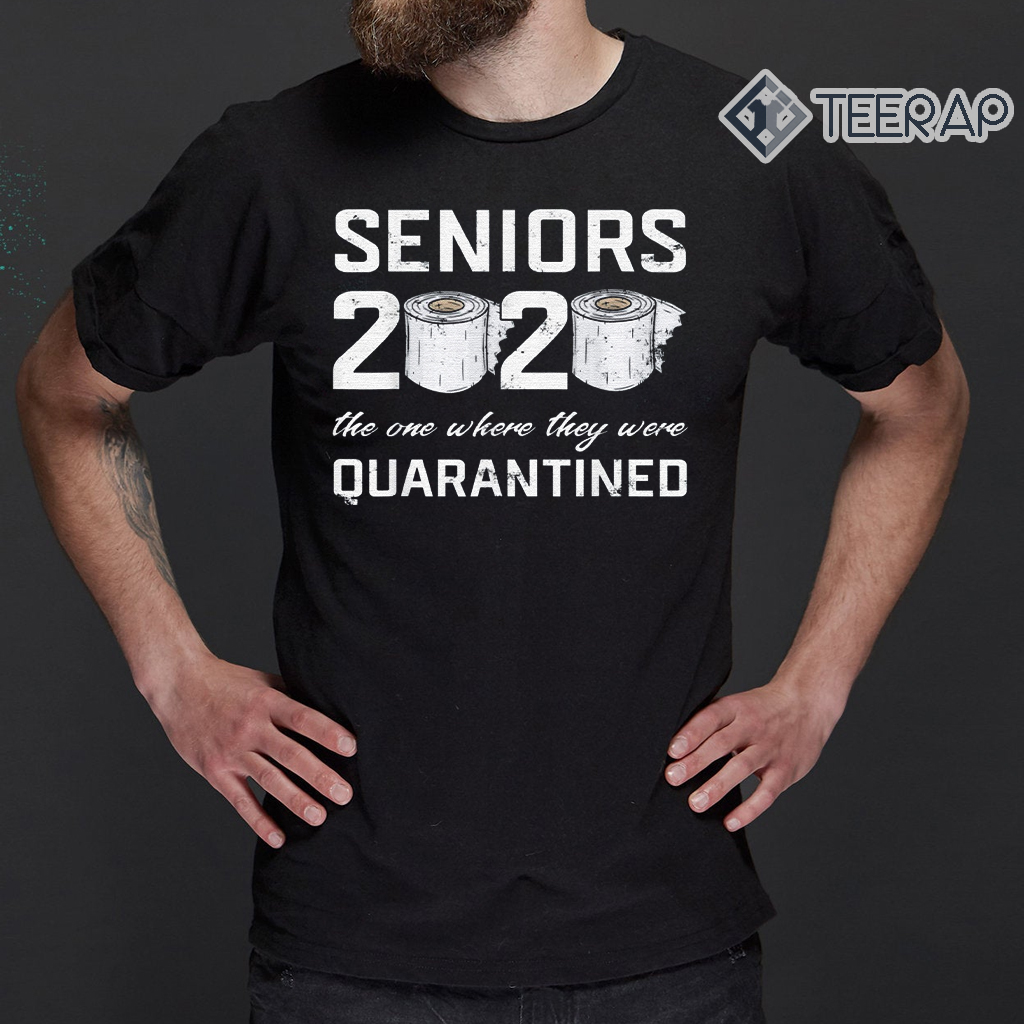Class Of 2020 Funny Senior Toilet Graduation Gift Shirt