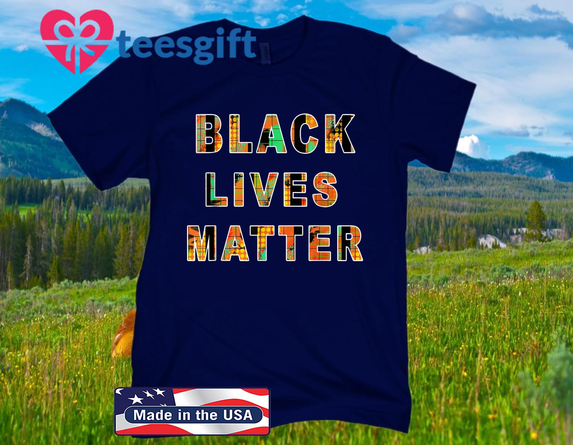 Black Lives Trending Map T-Shirt