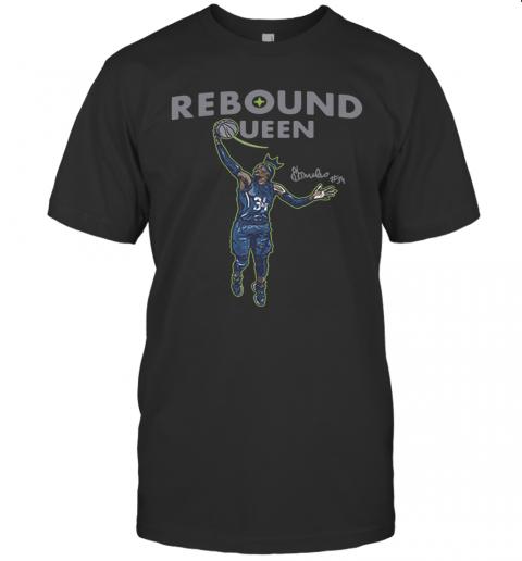 Sylvia Fowles Rebound Queen 2020 T-Shirt Classic Men's T-shirt
