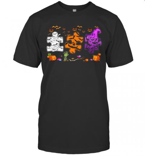 Autism Hocus Pocus Halloween T-Shirt Classic Men's T-shirt