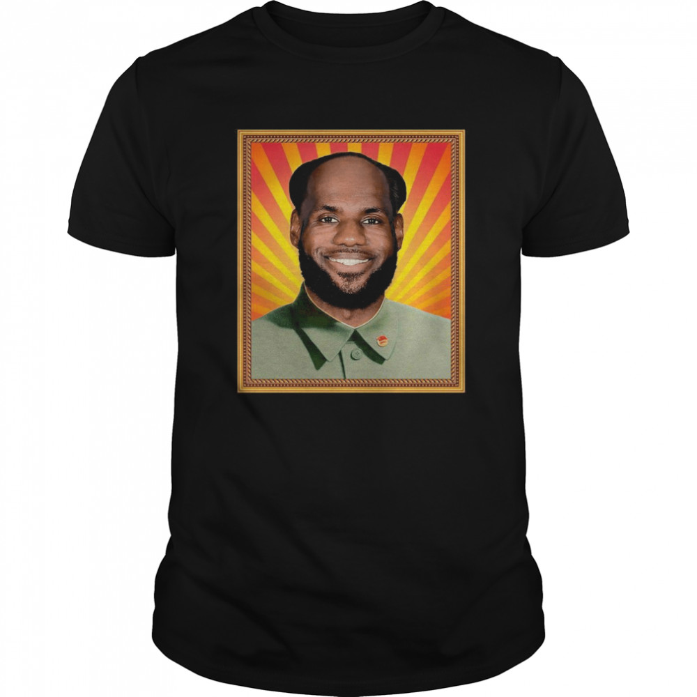 Lebron James' China Mao Zedong  Classic Men's T-shirt