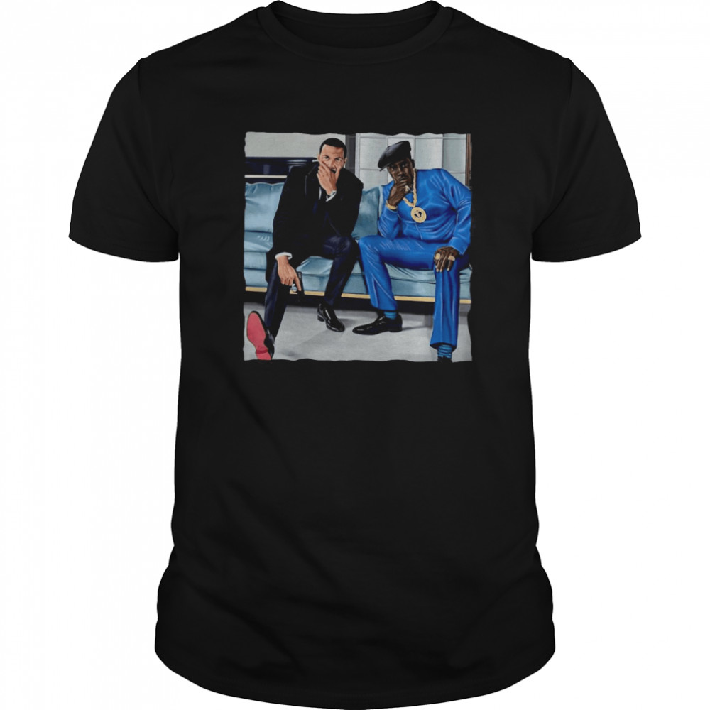 Nino Brown And Ghost  Classic Men's T-shirt