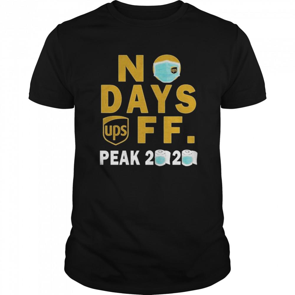 No Days Ups Off Peak 2020  Classic Men's T-shirt