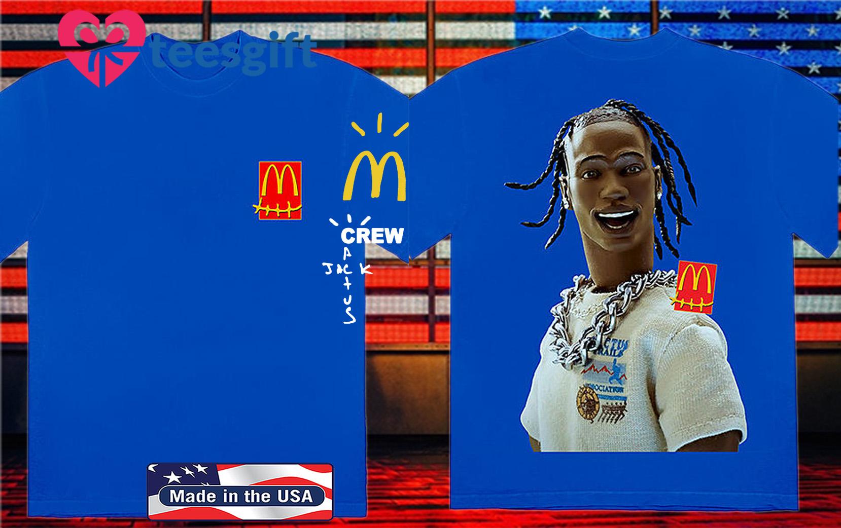 Travis Scott Drops McDonald's, Including Full-Body McNugget Pillow Shirt
