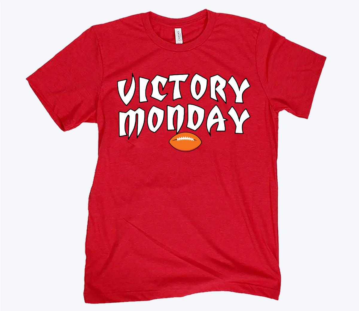 VICTORY MONDAY TB TEE SHIRT
