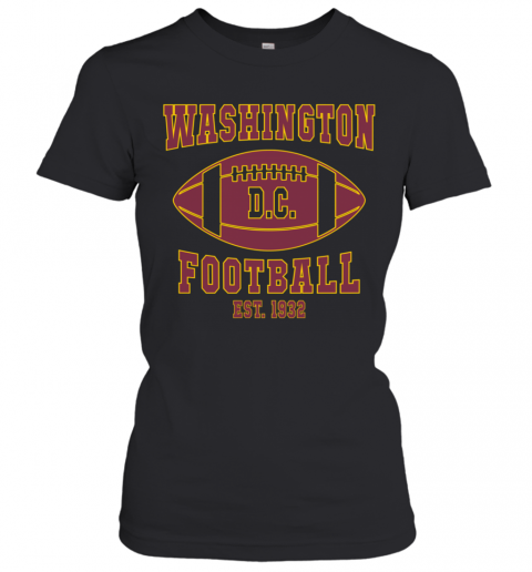 Washington DC Football Team 2020 T-Shirt Classic Women's T-shirt