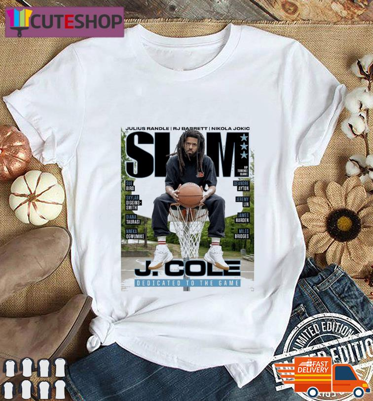 Official SLAM J. Cole DEdicated To The Game t-Shirt