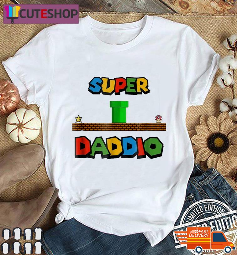Official Super Daddio Funny Father's Day 2021 Shirt